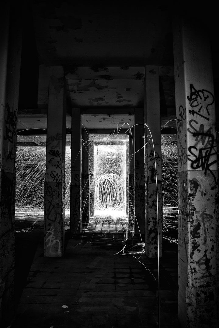 Lost Places set on fire